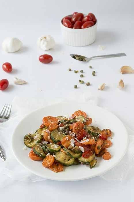 Summer Vegetable Carpaccio | thefirstyearblog.com