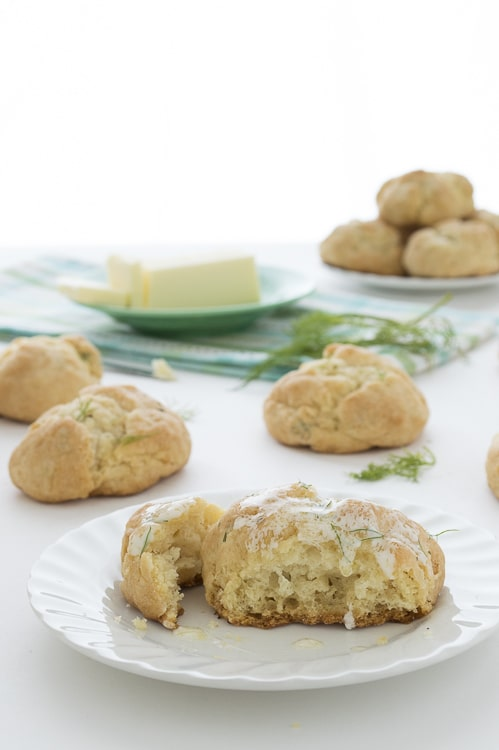 Fresh Dill and Herbed Buttermilk Biscuits | thefirstyearblog.com