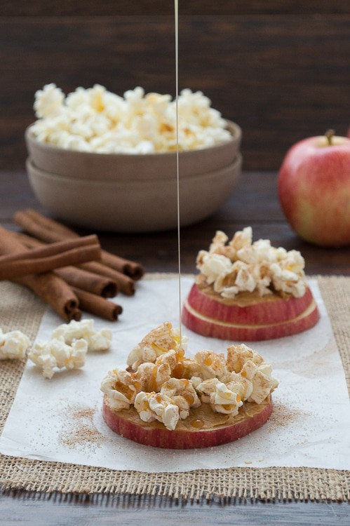 Apple cinnamon popcorn stacks | The First Year