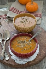 If you can blend, dump and stir, you'll love this fall pumpkin soup recipe!