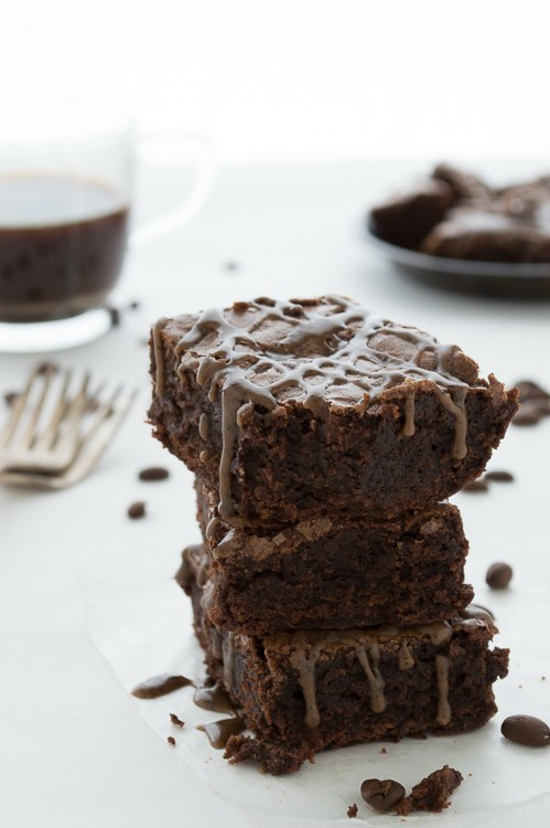 Espresso chocolate chunk brownies | The First Year