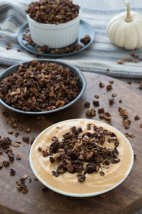 Another amazing way to enjoy pumpkin and chocolate - this fall recipe only takes 20 minutes to make!
