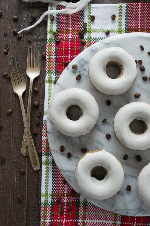 Celebrate all season long with these amazing cappuccino eggnog donuts. These are a must make!