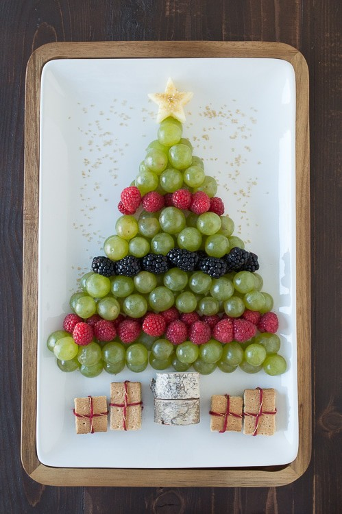 Christmas Tree Fruit Platter | Beanstalk Mums