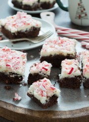 Healthier Peppermint Brownies, I love these!