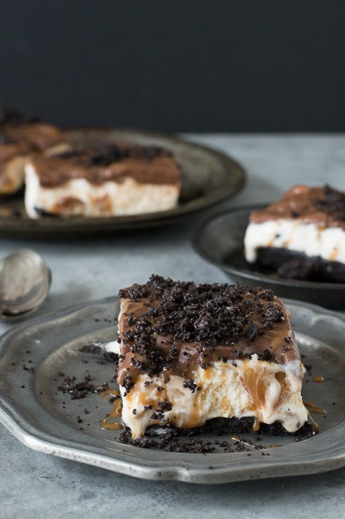 Buster Bars - homemade buster bars with oreos, peanuts and chocolate just like Dairy Queen!