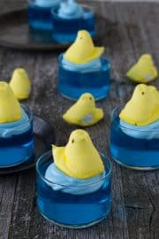 Swimming Peeps Jello Cups | The First Year Blog