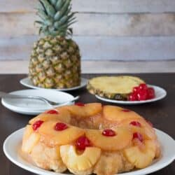 Pineapple Upside Down Monkey Bread - the classic flavors from pineapple upside down cake turned into monkey bread!