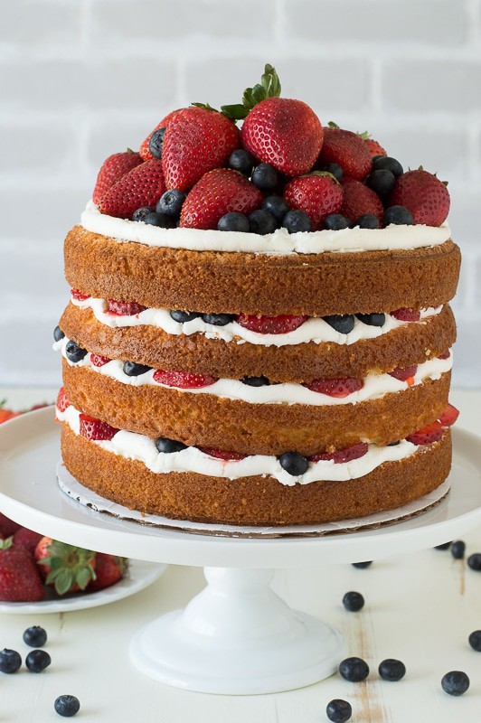 Recipe For Easy  Layer Vanilla Cake