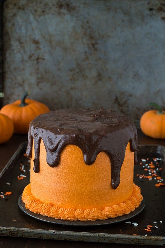 A perfect cake for halloween!