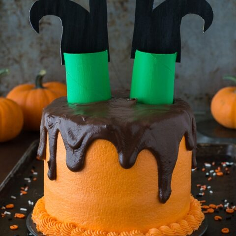 Melted Witch Cake