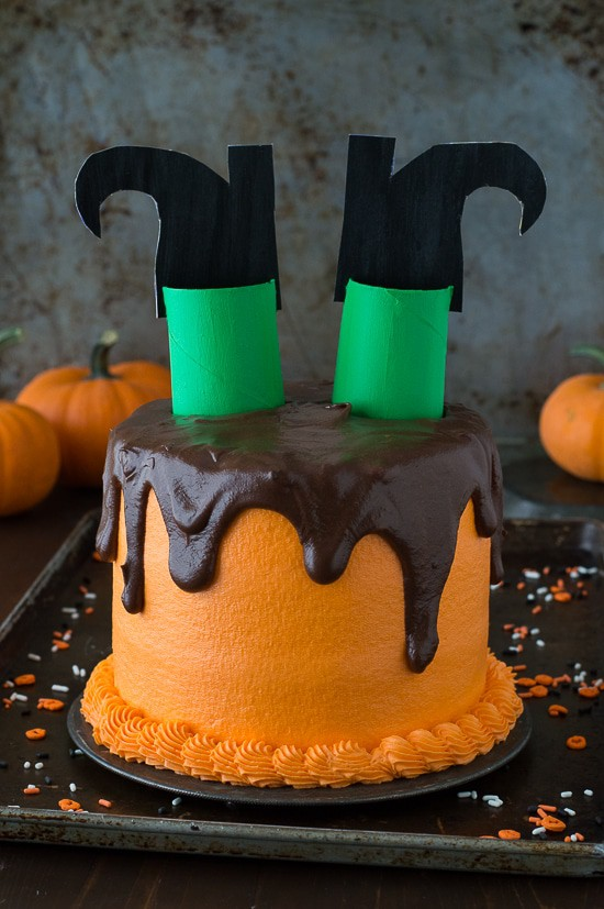 Melted Witch Cake The First Year