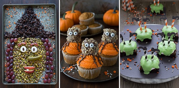 Halloween Recipes from thefirstyearblog.com
