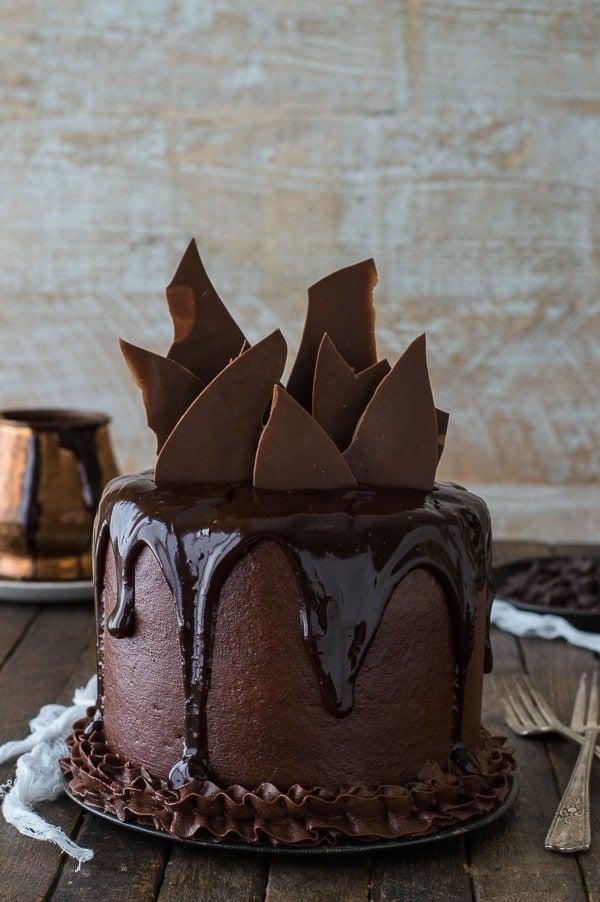 Chocolate Chocolate Cake | The First Year