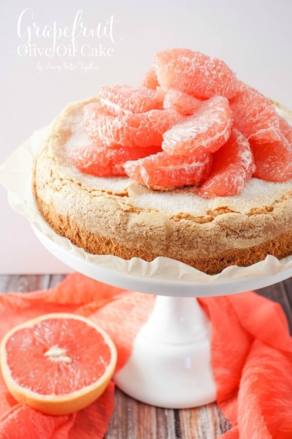 Grapefruit Olive Oil Cake | Sugar and Soul