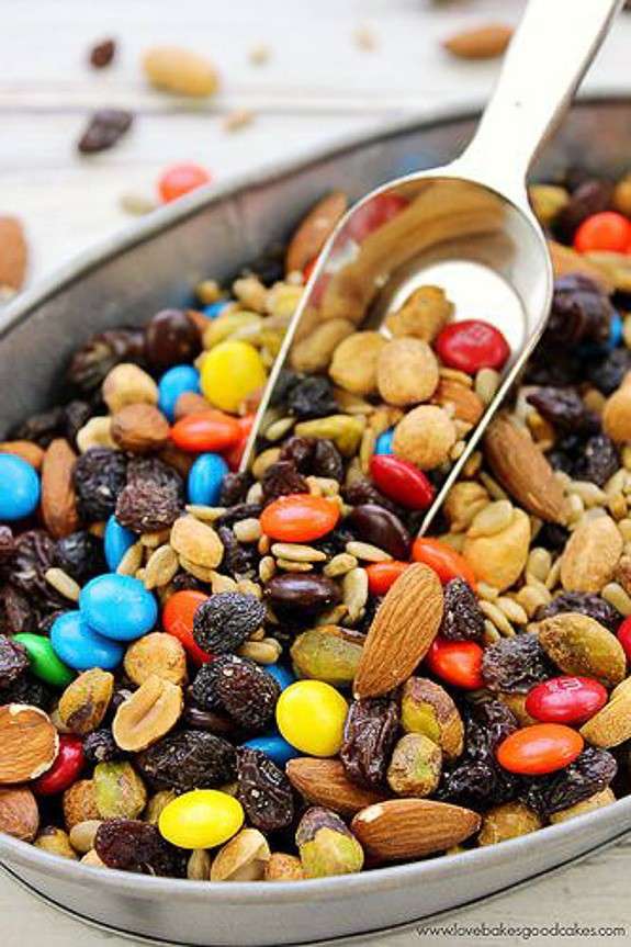 Sweet & Salty Trail Mix | Love Bakes Good Cakes