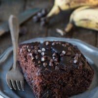 Healthier Chocolate Cake