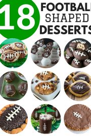 18 Football Shaped Desserts