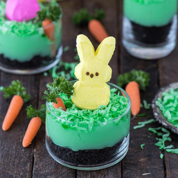 Peeps Bunny Pudding Cups
