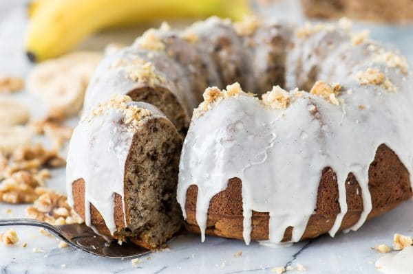 Banana Nut Bundt Cake | The First Year