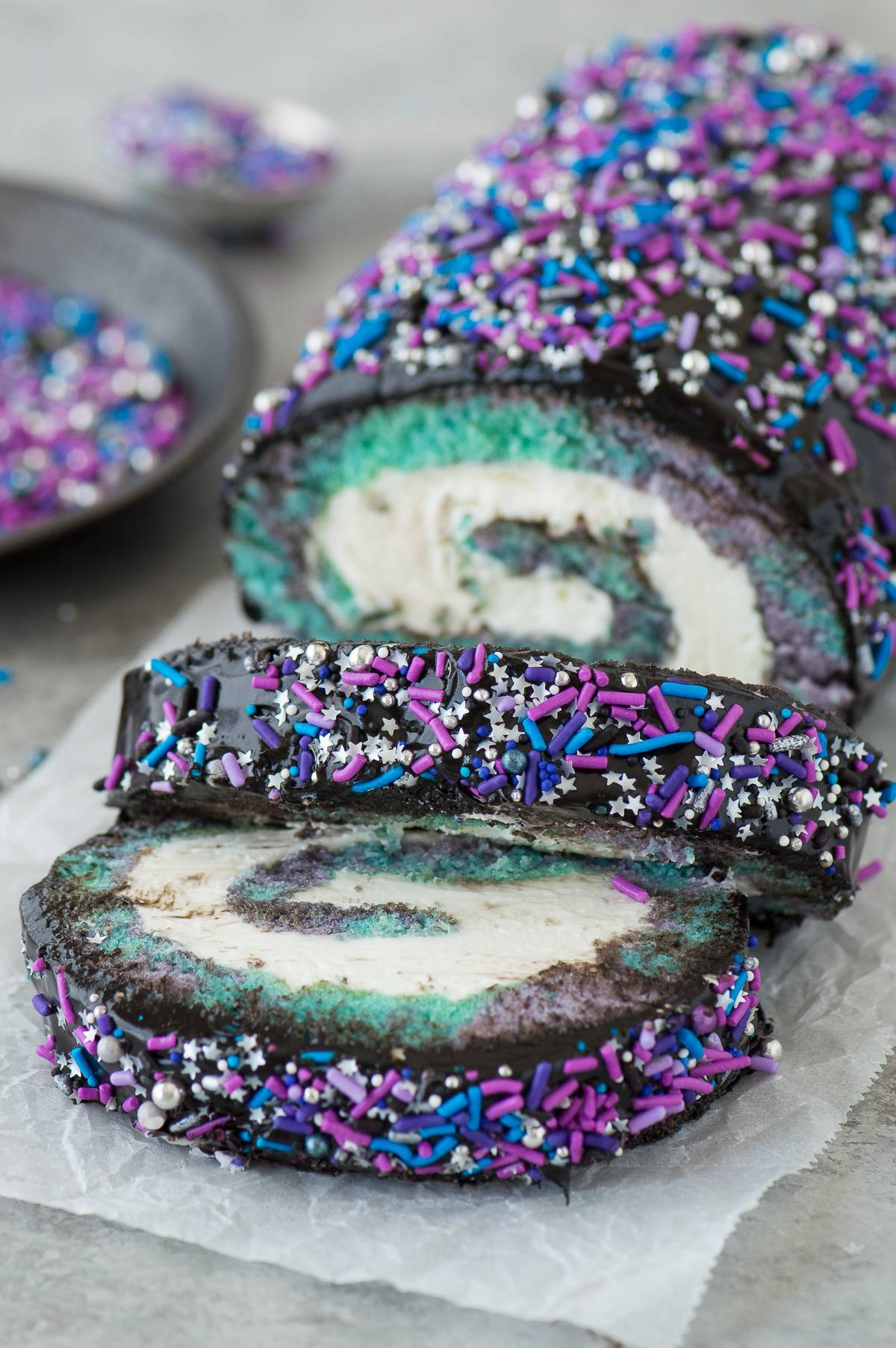 Galaxy Cake Roll The First Year