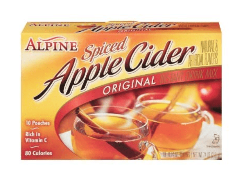 Apple Cider Drink Mix