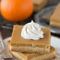 Easy Pumpkin Pie Bars
