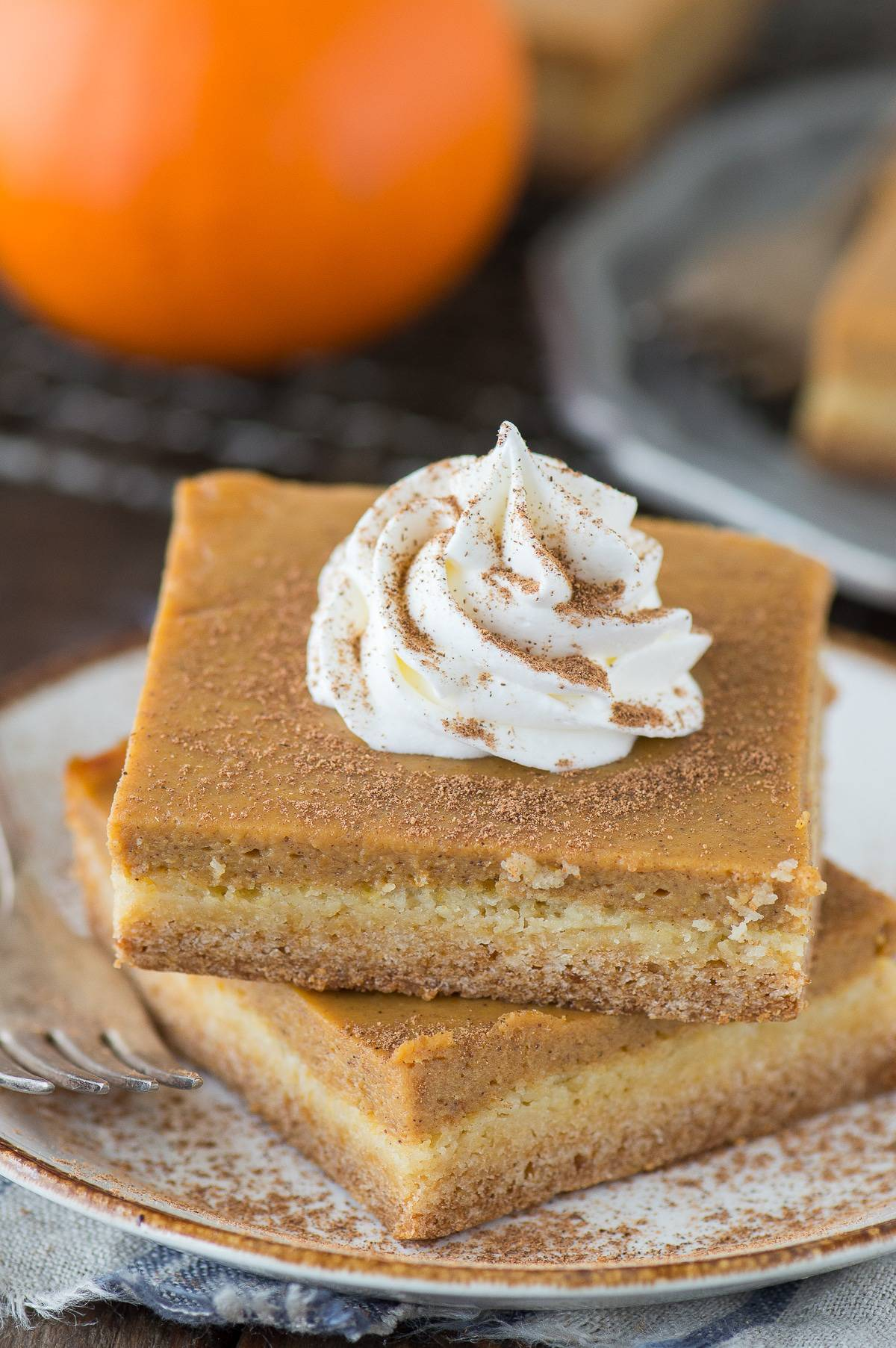 Pumpkin Pie Bars Yellow Cake Mix Cake Recipe