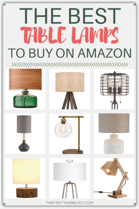 The best table lamps to buy on Amazon for under $200!