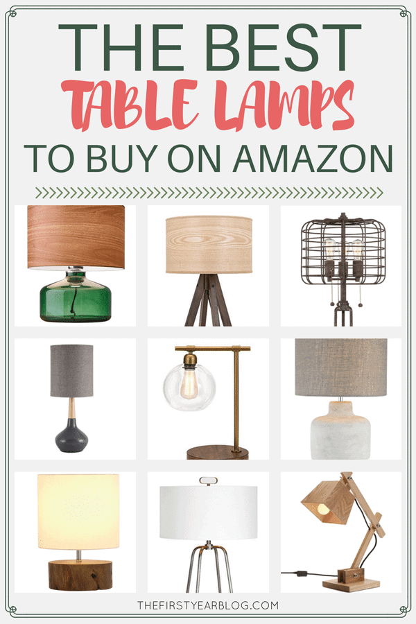 Exceptional The Best Table Lamps To Buy On Amazon For Under $200!