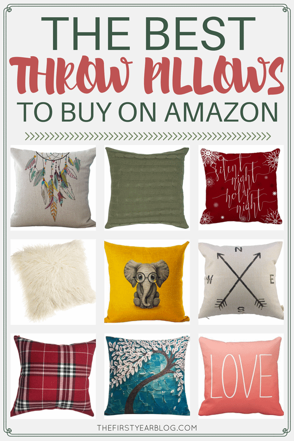 The Best Throw Pillows To Buy On Amazon The First Year New Where To Buy Decorative Pillows
