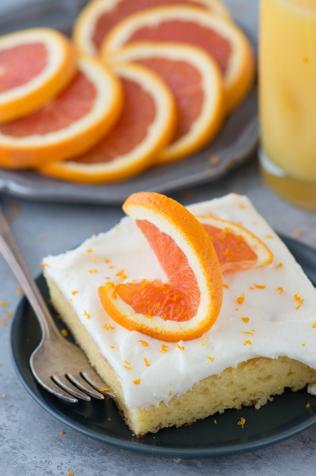 A quick dessert recipe for FLORIDA ORANGE CAKE. A doctored up cake mix recipe with a sweet orange flavor!