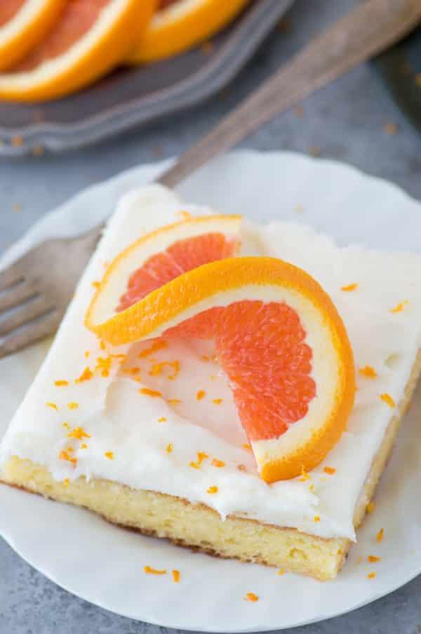 Florida Orange Cake The First Year
