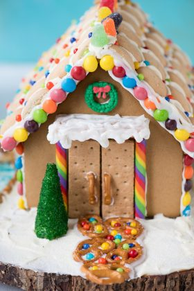Get some inspiration for your holiday gingerbread house decorating with our gingerbread house tutorial and VIDEO!