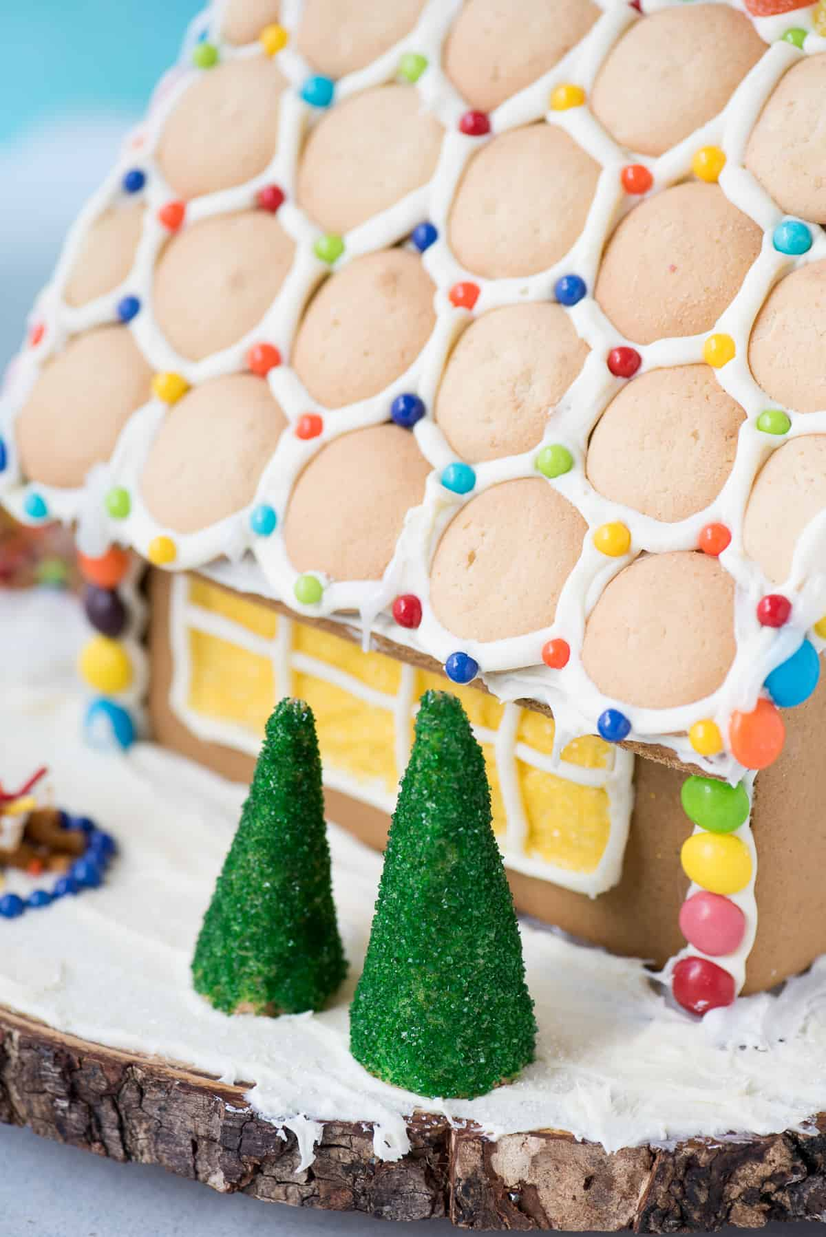 Get some inspiration for your holiday gingerbread house decorating with our gingerbread house tutorial and VIDEO