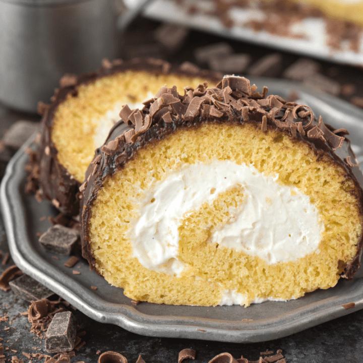 Eggnog Cake Roll