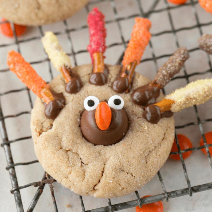 Turkey Blossom Cookie