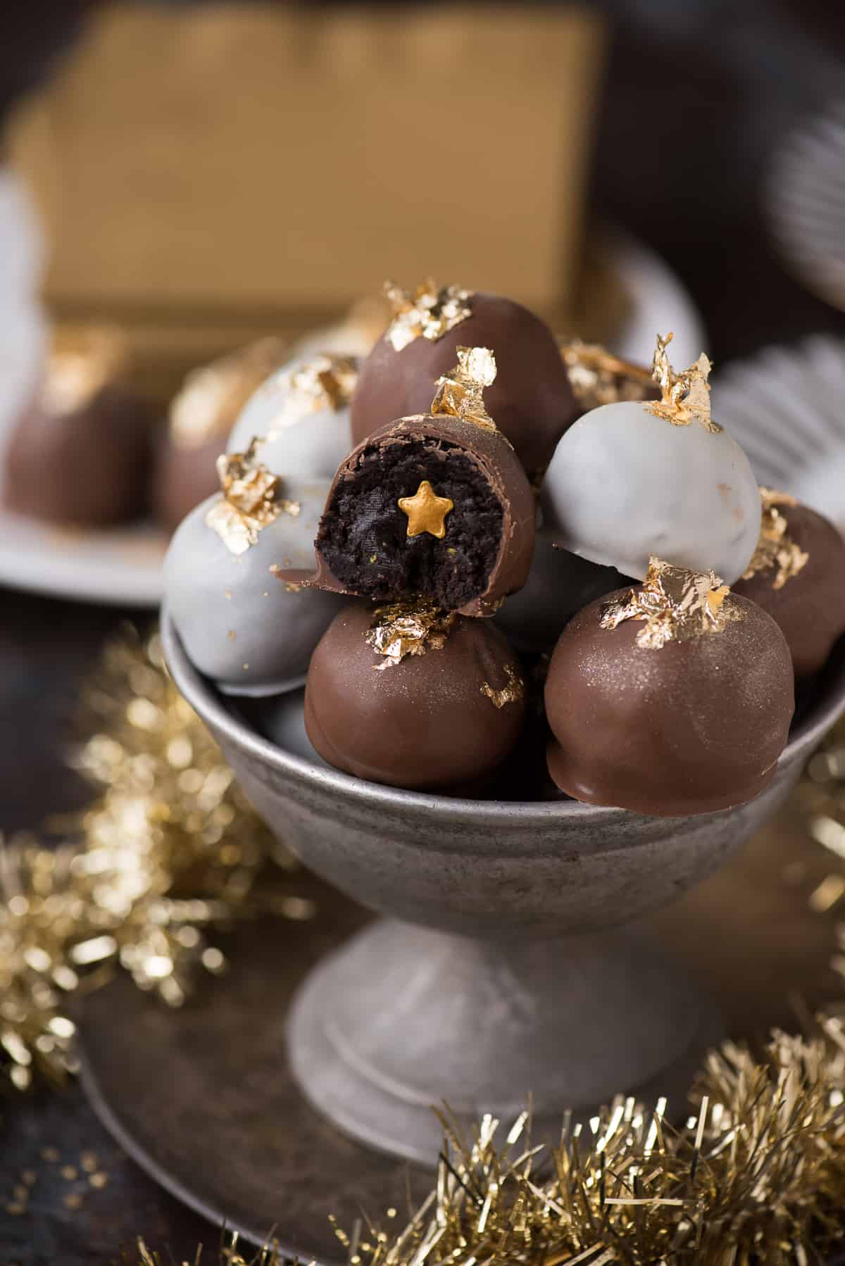 New Year S Eve Oreo Balls The First Year