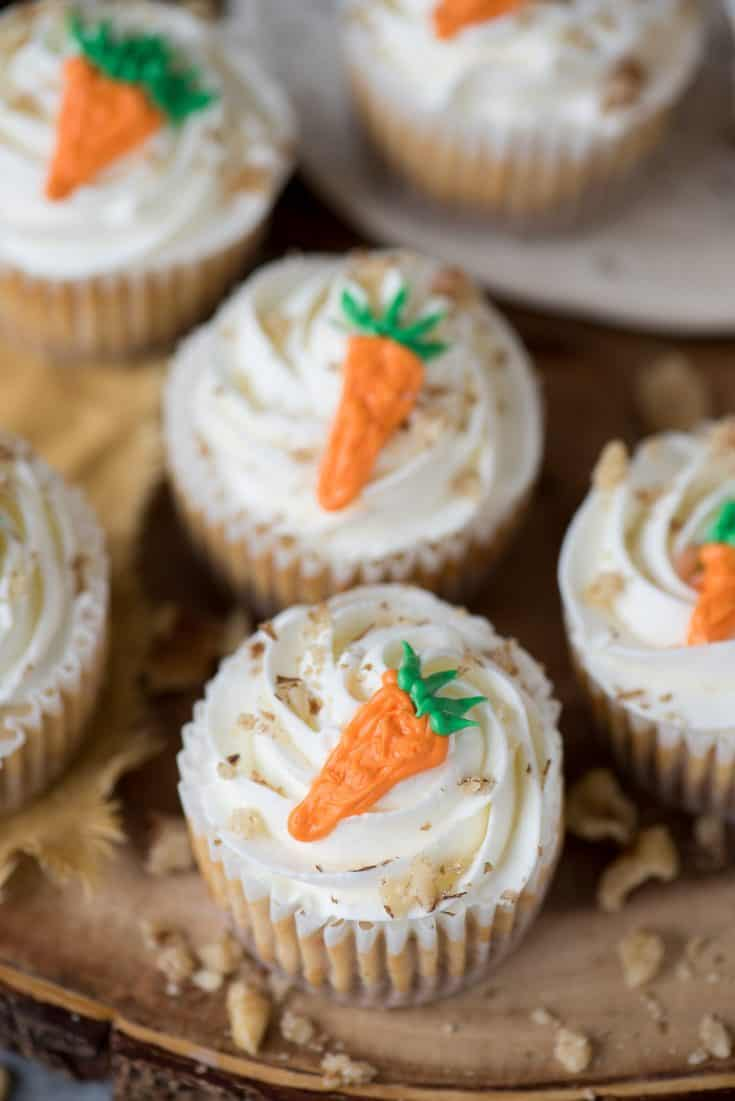 Mini Carrot Cheesecakes The First Year