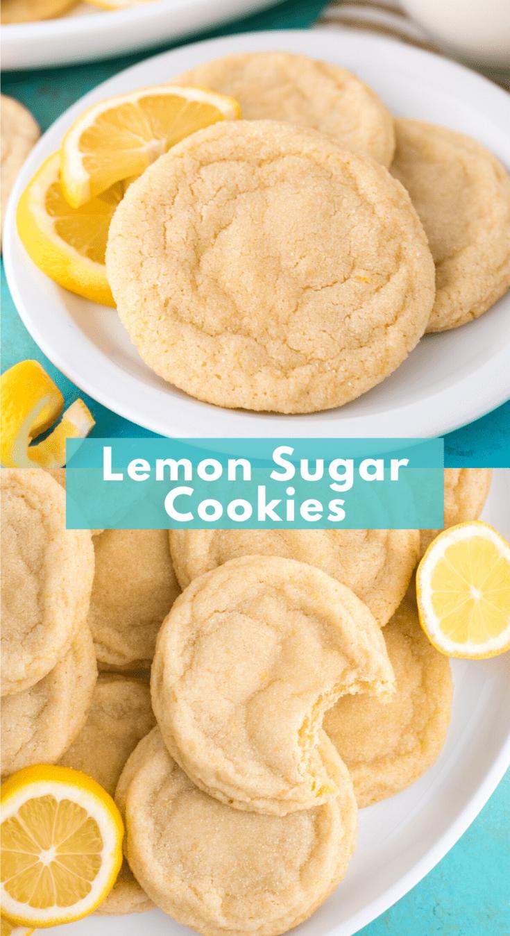 Ricetta Lemon Cookies.Lemon Cookies Chewy Thick Lots Of Lemon Flavor