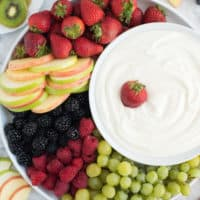 3 Ingredient Fruit Dip