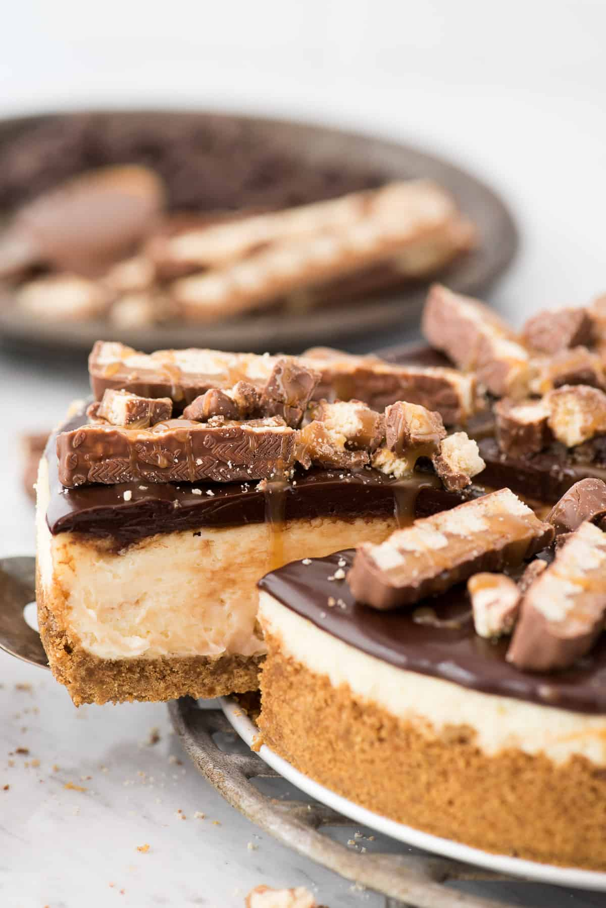 Twix Cheesecake The First Year