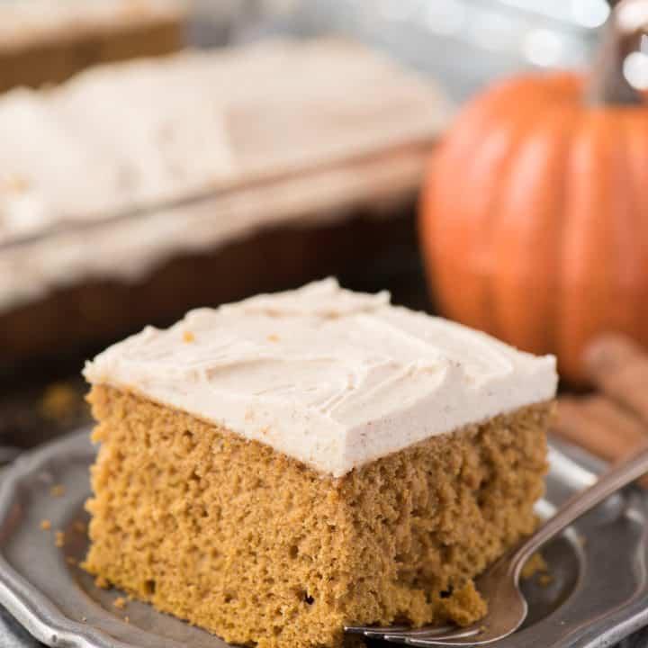 Doctored Up Pumpkin Cake