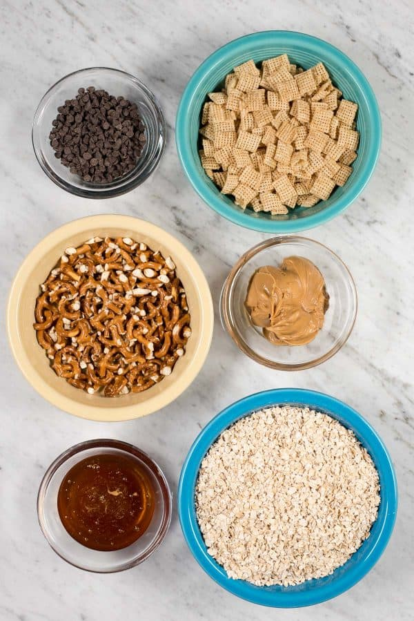 ingredients to make no bake granola bars