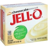 Jell-O Cheesecake Flavored Instant Pudding
