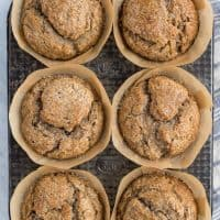 Bakery Style Banana Bread Muffins