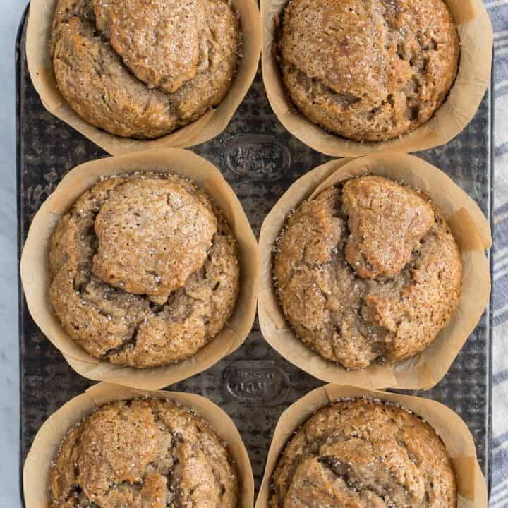 Bakery Style Banana Muffins The Best Domed Banana Muffins