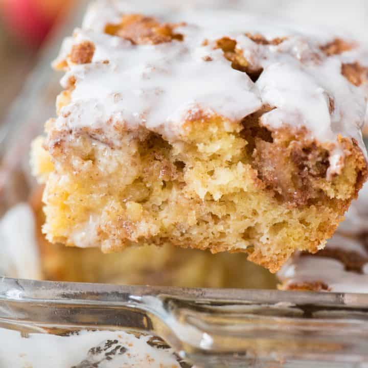 Easy Apple Coffee Cake with Cake Mix