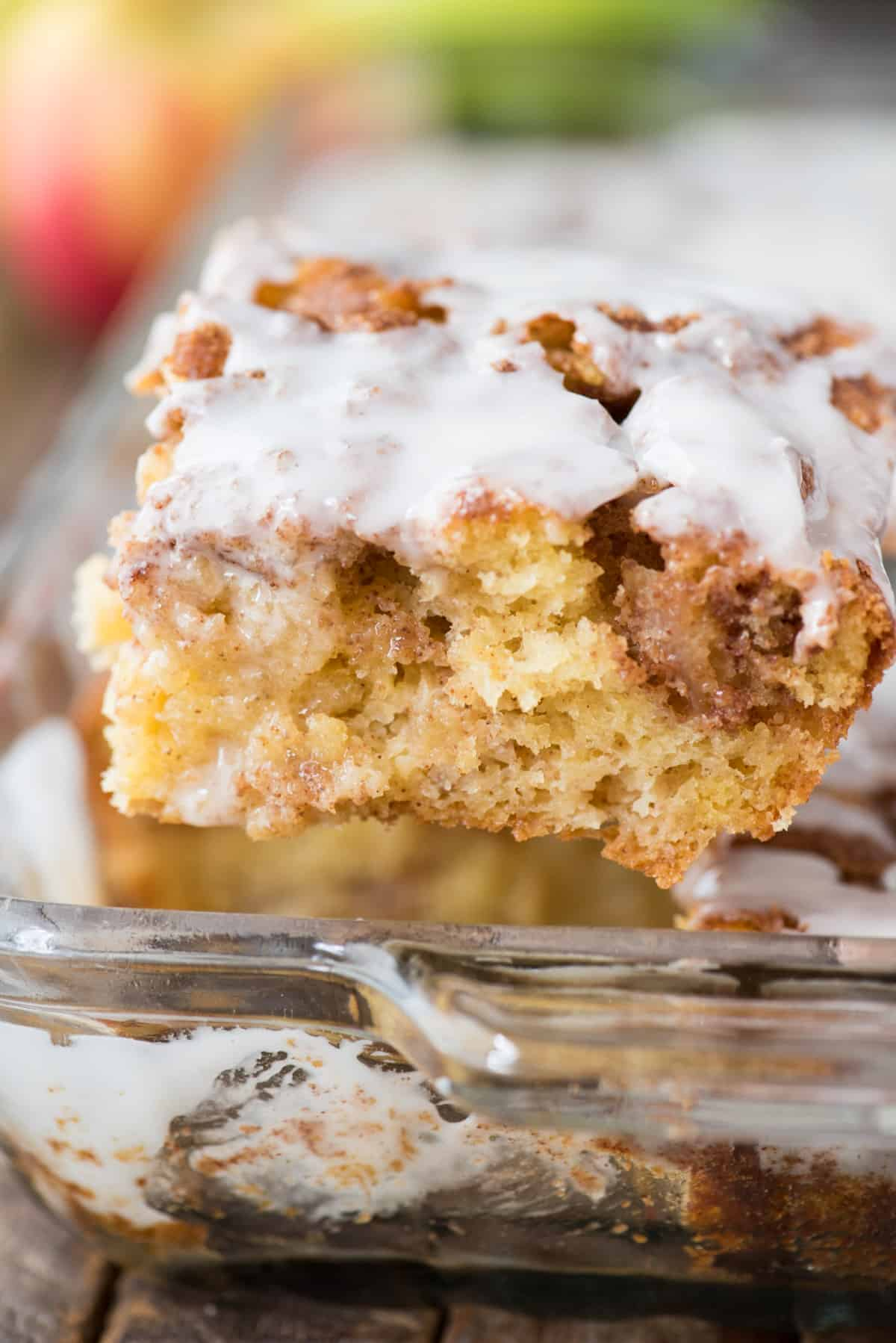 Easy Apple Coffee Cake With Cake Mix The First Year