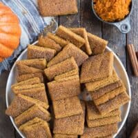 Pumpkin Graham Crackers